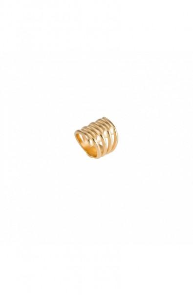 Ring Uno de 50 Twister ANI0302ORO0000L
