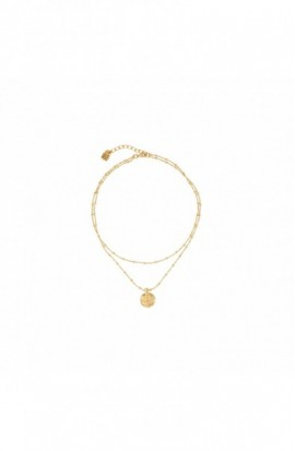 Necklace Uno de 50 Navy COL1379ORO0000U