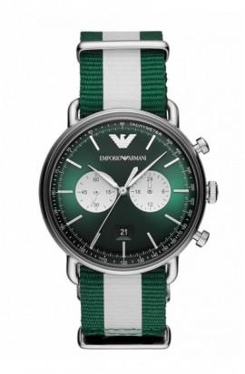 Rellotge Emporio Armani Green Chrono AR11221