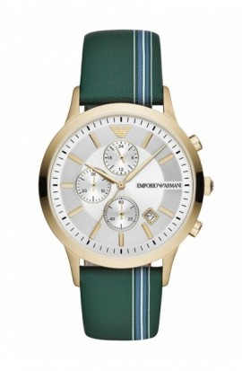 Watch Emporio Armani Green Steel Chrono AR11233