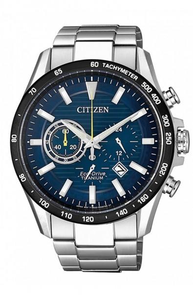 Watch Citizen Crono Black Bezel CA4444-82L
