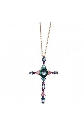 Collar Creu Salvatore plata 234C0021